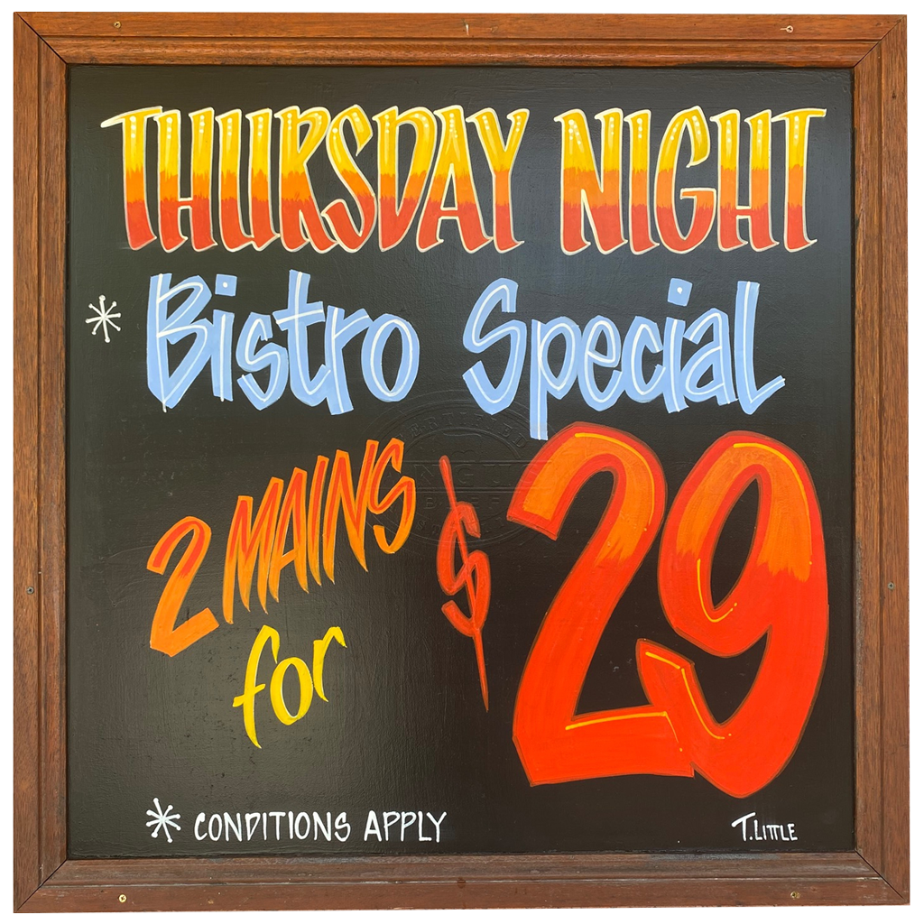 Whats On Bistro Special